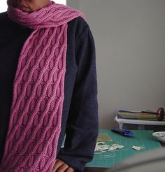 Ravelry: Project Gallery for chromosome scarf pattern by orlane