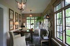Rod Winterrowd | 19th Century Tudor Renovation, Bronxville, NY | Garden Room