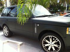 Matte Black Range Rover 2014