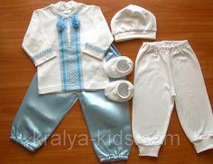 Комплект для крещения мальчика Крестильный в этно стиле Костюмы крестильные  для детей  продажа 364650927ac66