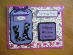 Happy Birthday Daughter Card for sale
