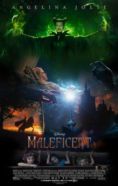 Disney Maleficent movie poster