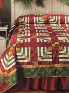 Logged Elegance Quilt Pattern Pieced BD