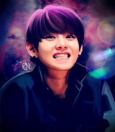 Kim taehyung fan art by eto-nani