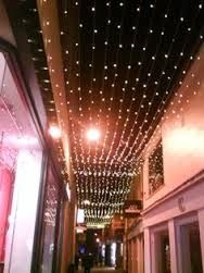 sky with christmas lights in events - Buscar con Google