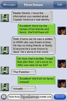 Even villains show sympathy