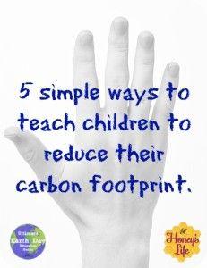 ... carbon footprint. #greenparenting #reduce #smallerfootprint http://www