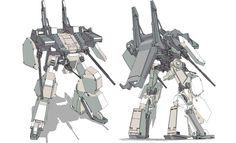 Tekki Taisen Vertical Tank (VT) Siegeszug. Second Generation VT for the Right Bros. faction.