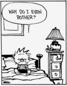Calvin and Hobbes - Thoughts Calvin Und Hobbes, Calvin And Hobbes Quotes, Calvin And Hobbes Comics, Best Calvin And Hobbes, Hobbes And Bacon, My Calvins, Fun Comics, Humor, Calvin And Hobbes