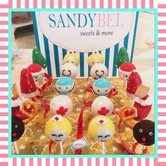 Xmas meets Medical #cakepops by #sandybel #weihnachtenimklinikum #nürnberg #fürth