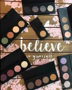 Younique pressed shadow palettes