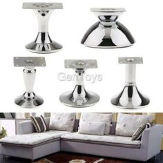 Leather Sofas Cheap Furniture Legs magideal anti damp sofa legs furniture replacement cabinet drawer plinth feet no chrome china iron metal modern leg buy at best prices