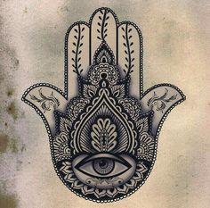 #hamsa #zentangles #eye #black&white