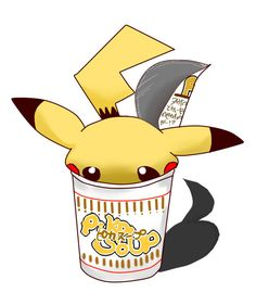 Cup full of Pikachu
