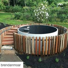 pool im garten ideen Beautiful Australian Plunge pool designed and installed by Brendan Moar Above Ground Pool Decks, In Ground Pools, Pool Fence, Garden Pool, Modern Landscaping, Pool Landscaping, Landscaping Design, Stock Tank Pool, Natural Swimming Pools
