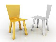 Metal chair FIOCCO dream Collection by altreforme | design Piter Perbellini, Garilab Associati