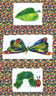 Eric Carle The Very Hungry Caterpillar for by sewsewingsewn, $40.00