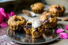 Dýňové muffiny s čokoládou | Hodně domácí