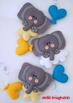 #felt #ELEFANTES | Felt Elephants