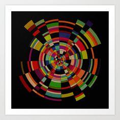 Serkular Art Print by Fimbis - $17.00