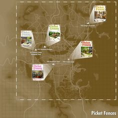 Picket Fences is a magazine in Fallout It includes five issues found at various locations around the Commonwealth. Reading an issue unlocks advanced settlement structures at settlement workshops. Fallout Map, Fallout Comics, Fallout Facts, Fallout New Vegas, Fallout Lore, Fallout Funny, Fallout 4 Secrets, Fallout 4 Tips, Tips