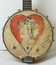 vintage banjo art - Google Search
