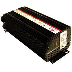 """Invertterin valintaopas    Invertterillä saadaan ajoneuvoakun jännite (12V/24V) muunnettua 230V 50H vaihtojännitteeksi, ja näinollen voidaan esim. kotitalouskoneita, televisiota yms. laitteita käyttää autossa, veneessä, asuntovaunussa ...     """"Genius Power"""" -inverttereiden hyötysuhde on n. 90%. Kaikissa malleissa on LowBatt-hälytys ja -katkaisu ja ylikuumenemis- , ylikuormitus- ja sisäänmenon oikosulkusuojaukset...  Lisätiedot: www.nymix.fi"""
