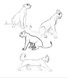 """Nala"" from The Lion King Disney Sketches, Disney Drawings, Cartoon Drawings, Drawing Disney, Lion King Drawings, Lion King Art, Nala Lion King, Animal Sketches, Animal Drawings"