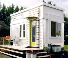 Ron Rusnak transformed this trailer to a tiny home and made $36,000 selling it on Craigslist | Inhabitat - Green Design, Innovation, Architecture, Green Building