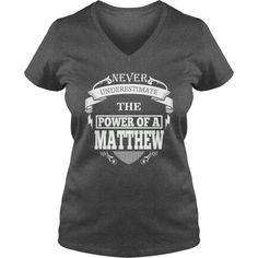 MATTHEW - Never underestimate the power of MATTHEW - MATTHEW name - MATTHEW Name Gifts - birthday gifts for MATTHEW - MATTHEW Shirts - MATTHEW T-shirt - Best Sellers #gift #ideas #Popular #Everything #Videos #Shop #Animals #pets #Architecture #Art #Cars #motorcycles #Celebrities #DIY #crafts #Design #Education #Entertainment #Food #drink #Gardening #Geek #Hair #beauty #Health #fitness #History #Holidays #events #Home decor #Humor #Illustrations #posters #Kids #parenting #Men #Outdoors…
