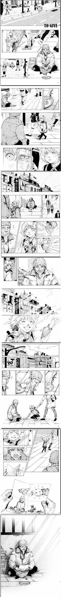 Aranyos manga képregény