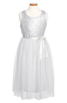 Sequin Ballet Dress (Big Girls)