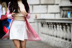 On the Streets of London Fashion Week Spring 2015 - London Fashion Week Spring 2015 Day 2
