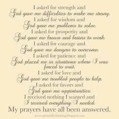 How God answers prayers    #quote #saying #prayer #faith #god
