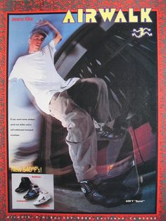 Classic Vision Street Wear Ad Feat Quot Gator Quot Mark Anthony