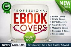 design PROFESSIONAL Ebook Cover or Kindle Cover by medox3