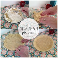 Until I was old enough to watch Food Network, I had no idea that most people painstakingly food-process and roll out their pie crusts. I thought everyone just mixed them in the pan like my mom! This no-roll pie crust recipe is perfect for a quick pie crust, we often use it for quiches. And...Read More »