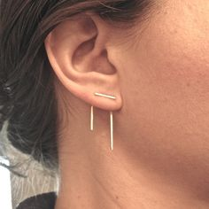 Staple Ear Jackets | 24 Ear Jackets That Will Take Your Piercings To The Next Level