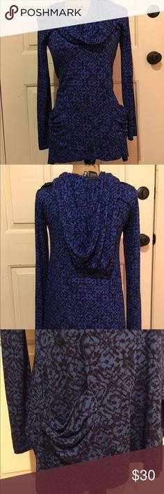 🆕 Blue by Saks dressy hoodie top Super cute! dressy but comfy | slouchy pockets in front | Viscose and spandex blend. 👺NO TRADES DONT ASK! ✌🏼️Transactions through posh only!  😻 friendly home 💃🏼 if you ask a question about an item, please be ready to purchase (serious buyers only) ❤️Color may vary in person! 💗⭐️Bundles of 5+ LISTINGS are 5️⃣0️⃣% off! ⭐️buyer pays extra shipping if likely to be over 5 lbs 🙋thanks for looking! Saks Fifth Avenue Tops Blouses