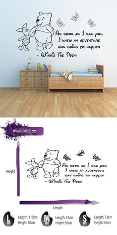 Wall Stickers 3, Baby Wall Stickers - Girls Boys Bedroom Decor Wall Decals Quotes Kids Wall Decals
