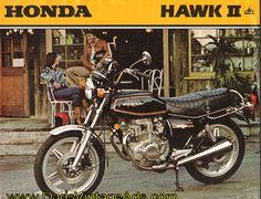 1979 Honda Hawk II CB400T 2-Page Brochure Sun & Fun Motorsports 155 Escort LN, Iowa City, IA 319-338-1077