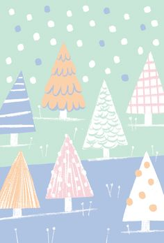 Unicef Christmas cards on Behance