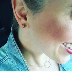 Love my girl @britneycrosson wearing our Alphabet #stud #earrings. Check out her blog @kindkiddo and shop my Semi-Annual Sale! Only at candibyaf.com #semiannualsale #sas #sale #chloeandisabel #candibyaf #texasbloggers #texasblogger