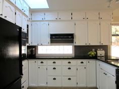Art For Your Walls, Decor For Your Home: White Kitchen Cabinets Makeover