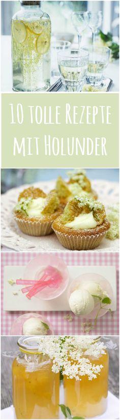 Holunderblüten können weit mehr als nur zu leckerem Sirup verarbeitet zu werden. Hier kommen unsere 10 Favoriten mit Holunderblüten: http://eatsmarter.de/ernaehrung/news/10-tolle-rezepte-mit-holunderblueten/