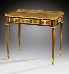 Living Room Trustful Antique Worker Small Table Marquetry Deco Jeux