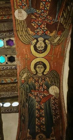 the first Christian monastery in the world. Catholic Art, Religious Art, Ancient Art, Ancient History, Order Of Angels, St Anthony's, Romanesque Art, Renaissance, Byzantine Art