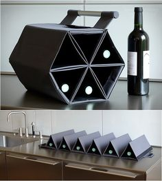 ZEbag Wine Carrier: mobile technology at its best :)
