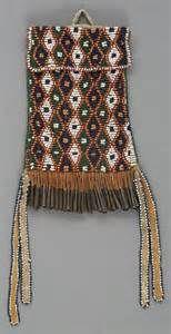 an apache beaded hide strike a light bag c 1885 american lot 55150 ...