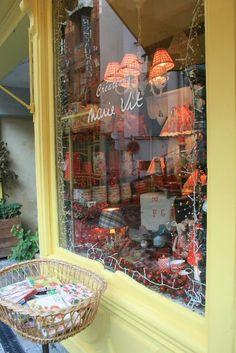 Honfleur, France -Lovely shop window